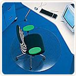 Защитные ковры для пола под офисные кресла и стулья Макролон Германия